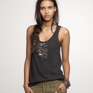 J. Crew Tissue and Tulle Tank